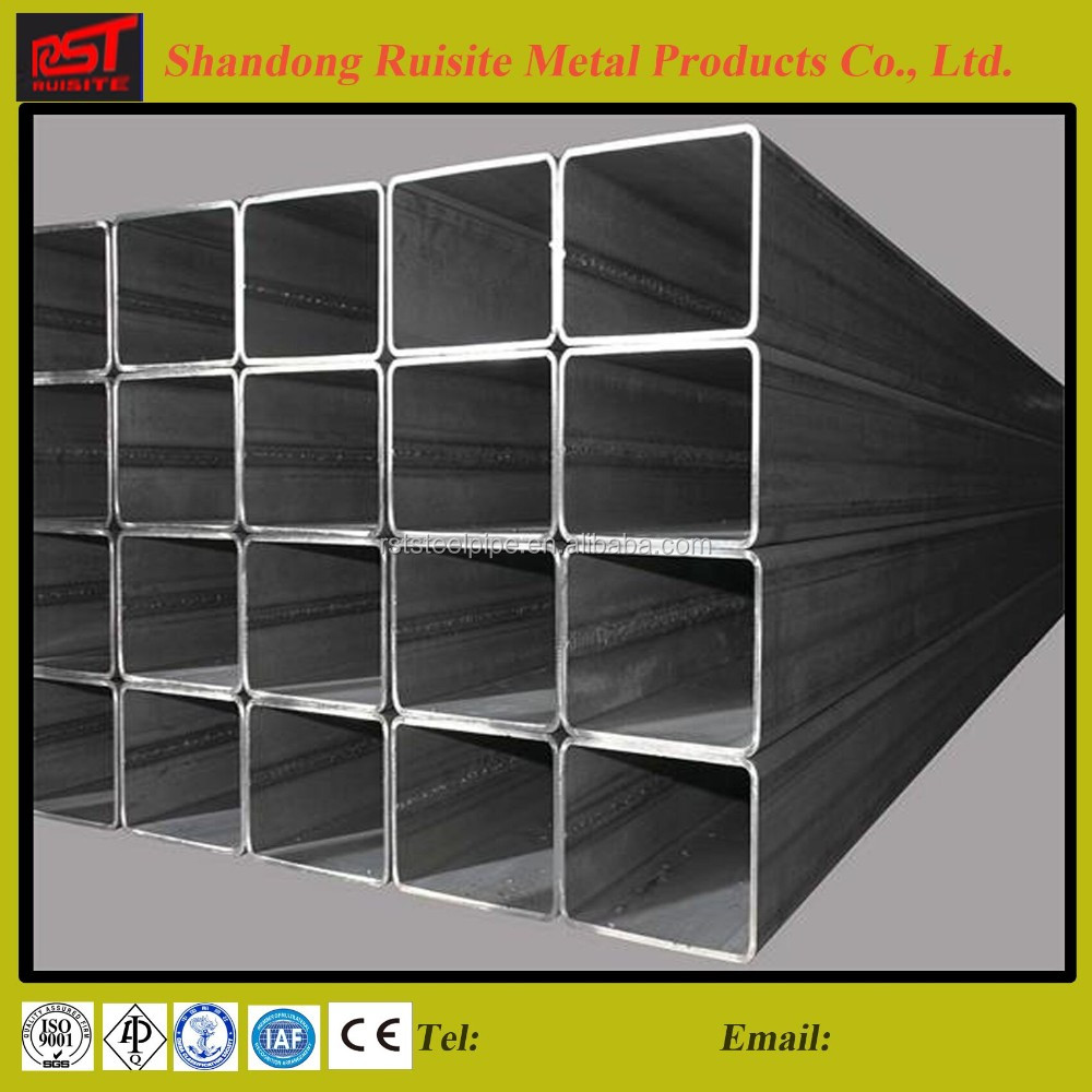 china top ten selling products galvanized steel rectangular tube /pipe products for buildings materials