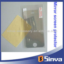 Reuable mirror screen protector for galaxy ace s5830 screen protectors for iphone 5