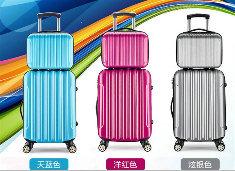 Hot Selling Abs Pc Trolley Luggage Set - Buy Abs Luggage Set,Abs ...