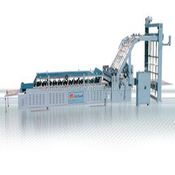 Vacuum sucking Semi-auto type flute laminating machine/semi-automatic paper board laminator