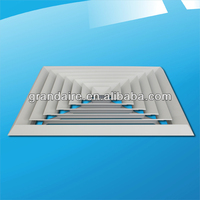 4 Way Square Ceiling Air Vent