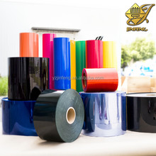 Colored plastic pvc film for thermoforming