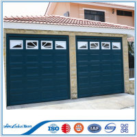 Modern Stainless steel Sectional Garage Door