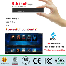 2017 Factory OEM/ODM tv box Android 6.0 Amlogic S905X Quad-core with skype camera