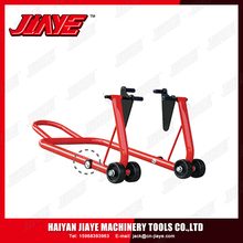 High Grade Steel Wheel Chock Holder Motorcycle Support Stand