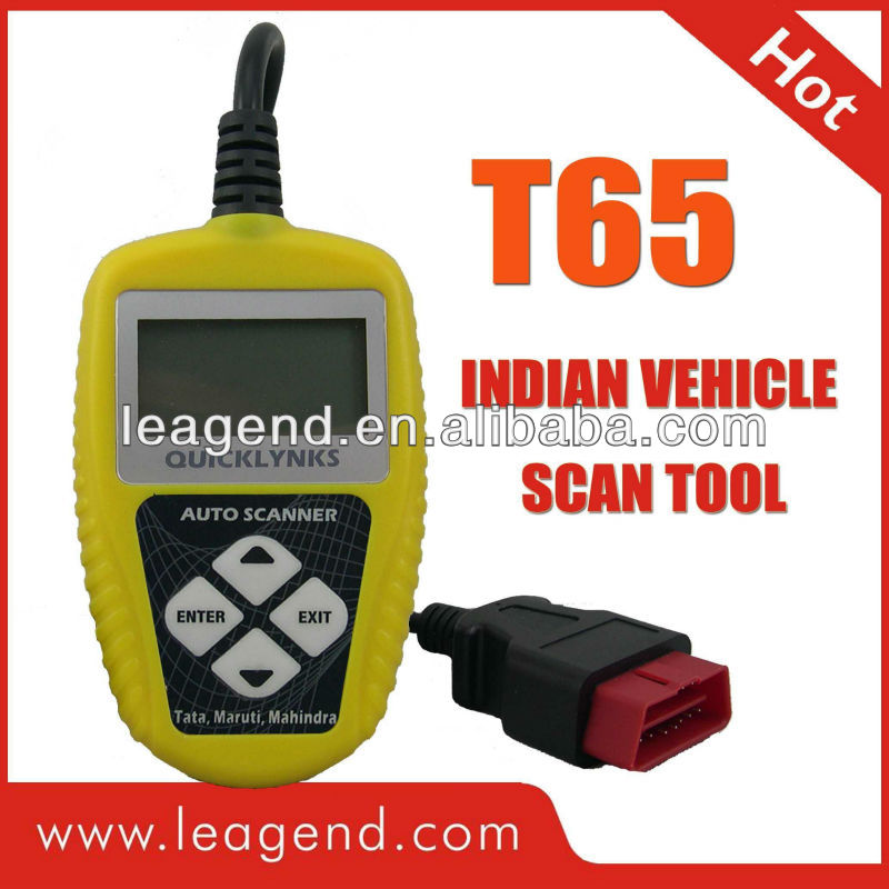 OBD2 Indian Auto Code Reader T65