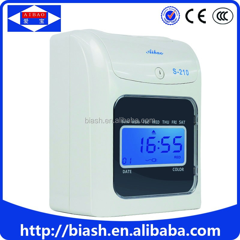 digital date time stamp machine S-210