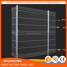 Anping Factory Galvanized Decorative Rigid Welded Wire Mesh Fence Panels