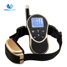 Custom rechargeable waterproof remote sport electric dog training shock beeper collar rechargeable petsmart with remote
