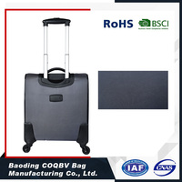 COQBV Black 4 Wheels Custom Trolley