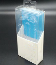 Plastic cardboard blister pack with hanger for cell phone case