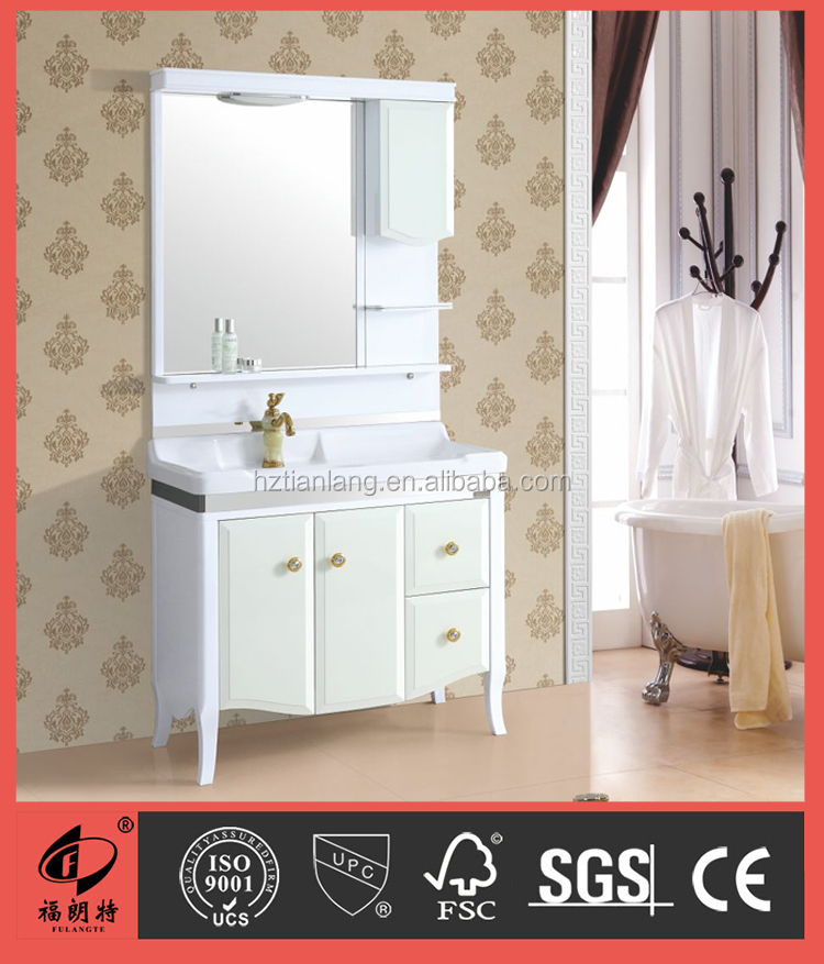 Fridge style PVC bathroom cabinet S7570-90