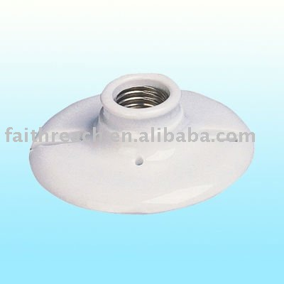 porcelain ceramic lamp base E27 Edison Lamp Holder