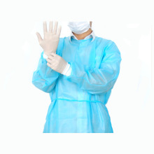 Water resistance nonwoven disposable lab coats