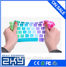 Manufacturer OEM custom colorful silicone keyboard cover for mac silicone keyboard covers colorful laptop keyboard cover
