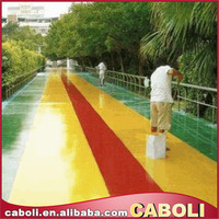 Caboli epoxy concrete floor coating for car parking and workshop