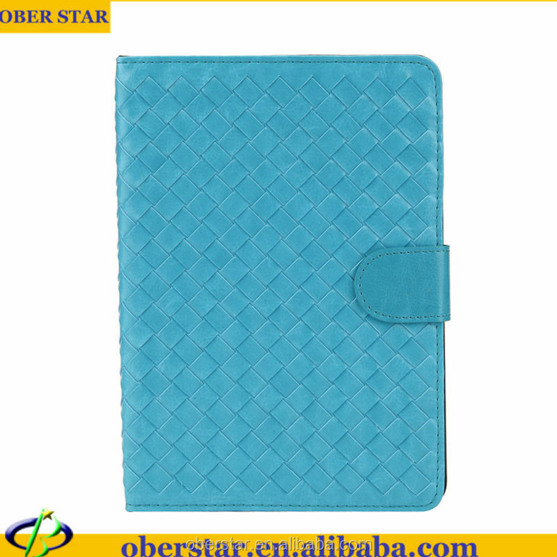 Weave Case For iPad mini Tablet Leather Cover