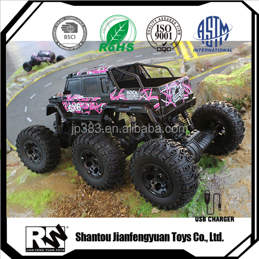 RW 2.4G 1 8 scale 6WD car rc truck kids electric cars for 10 year olds