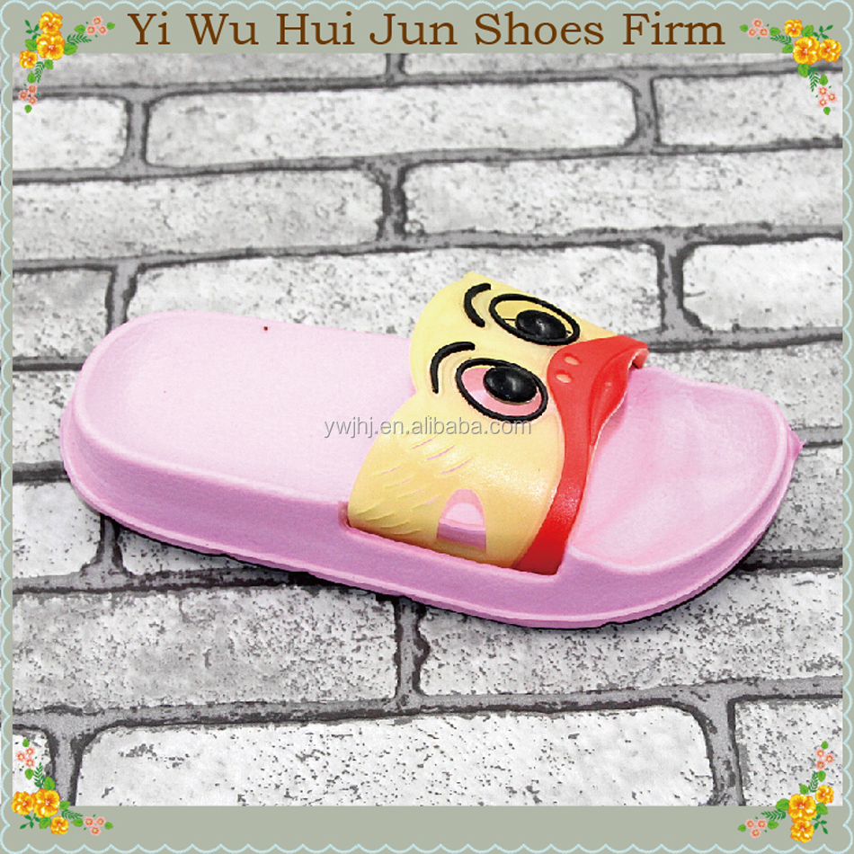Fashion Cute Cartoon Pattern Design Kids Slipper Famous Footwear