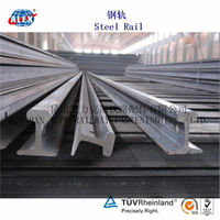 55q / S49 Light Rail Steel Rail sleeper in 55# carbon steel