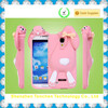 3D silicone rabbit case for Samsung Galaxy S4