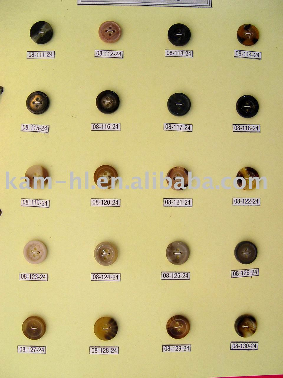 Professional custom high quality resin wood shirt buttons