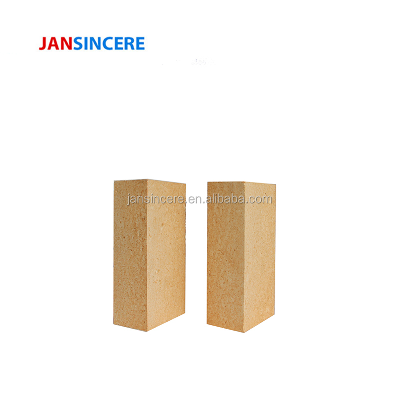 Jansincere Fused Alumina Clay Brick Special Low Creep Clay Refractory Brick