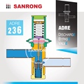 Sanrong Automatic Expansion Valve, Pressure Bypass Regulator, ADRPE-3 ADRP-3 Sporlan Hot Gas Bypass Valve
