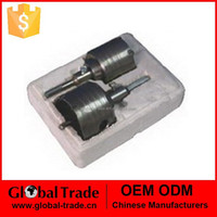 T0104 2pcTCT hole saw drill bits core bits special for stainless steel drilling hole opener