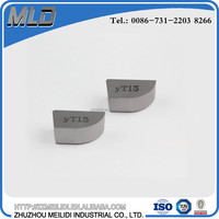 YT15 Tungsten Carbide Brazed Cutting Tips