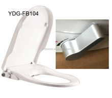 U shape toilet seat stainless steel floor bidet