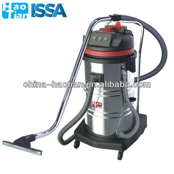 HT80-3 HaoTian 80L Three-motor industrial stainless steel wet and dry vacuum cleaner