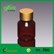 118ml Amber Boston Plastic Cosmetic Sample Containers