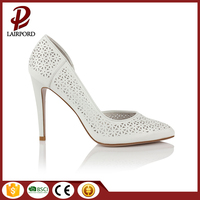 2016 new products low MOQ women classy high heel spain shoes