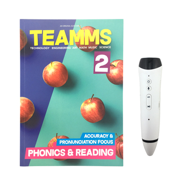 Wholesale OEM  English Conversation Books Electronic Audio Recording Pen Learning Activity Books