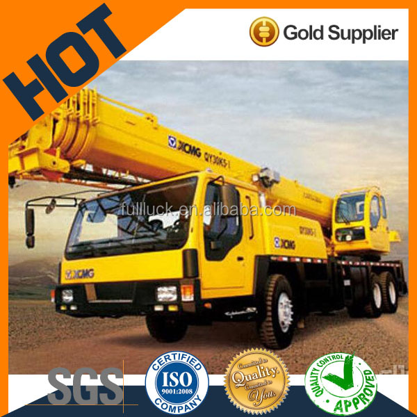 25T operating weight used xcmg contauner mobile truck crane 25ton for sale