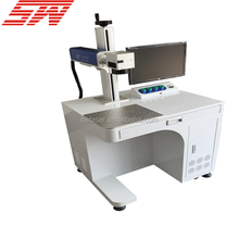 High performance Metal Laser Engraver Machine 20W Fiber Laser Marking System CNC machine