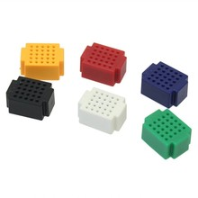 colorful 25 points mini shield breadboard for Arduino new projects