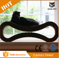 new type pet product sleeping cardboard cat toy