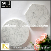 Natural marble serving trays pizza plates cheese trays