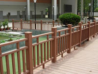 Moisture resistant, anti-crack WPC wood composite material make Outdoor applied balustraders/handrails/railing