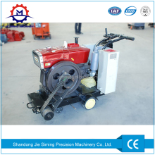 Hand held concrete pavement surface floor cutting machine