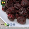 healthy snack fruits freeze dried red sour cherry dried cherries
