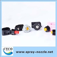 Quick Install Plastic clamp water spray nozzle