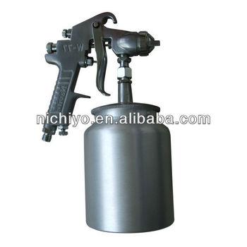 Water based paint spray gun air adjust gun w 77 buy for Spray gun for oil based paints