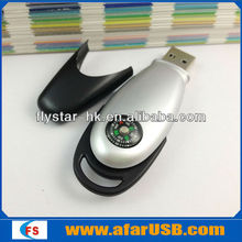 fashion flash drive memory stick usb 32gb gift with compass