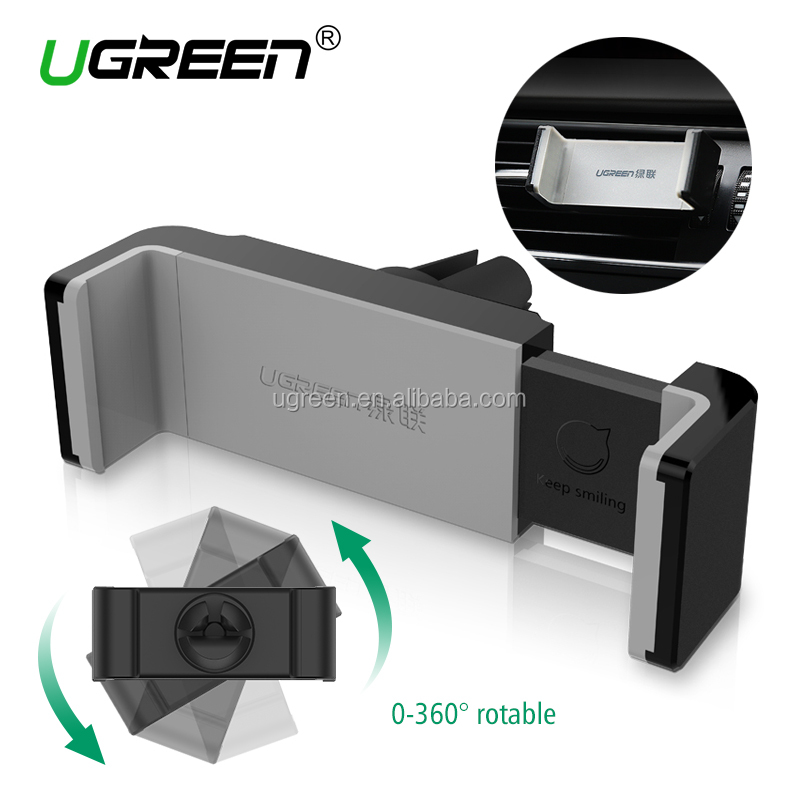 UGREEN Car Vent Mount Holder Air Vent Mount Phone Holder for iPhone 7/7 Plus/6S/6 Plus 5S SE, Samsung Galaxy S7/S6 edge/S6 Cell