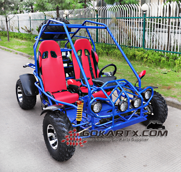 Racing Go Kart 300cc CVT Chain Drive Cheap gas go kart for sale