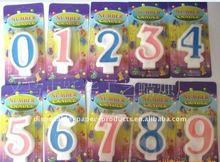 Wholesale Number Candle Pack