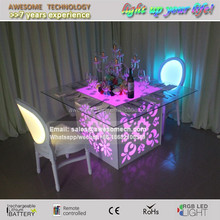 bright event under table lighting / led under table event lighting